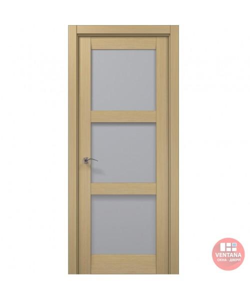 Межкомнатная дверь Папа Карло ML-07 сатин