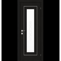 Межкомнатная дверь RODOS VERSAL Patrizia basic molding, со стеклом, с гравировкой 2