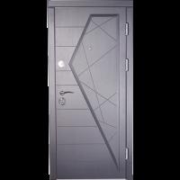 Дверь входная бронированная VERY DVERI Айсберг графит (серия «ВИП+ Премиум»)