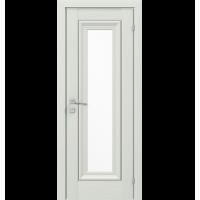 Межкомнатная дверь RODOS VERSAL Patrizia basic molding, со стеклом