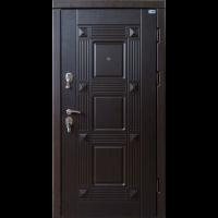 Дверь входная бронированная VERY DVERI Квадро венге (серия «Акцент»)