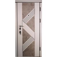 Дверь входная бронированная VERY DVERI Верона светлая с патиной (серия «Элит»)