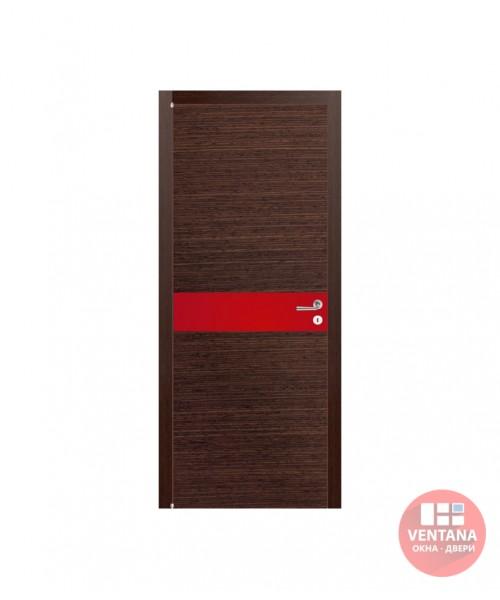 Межкомнатная дверь Comeo Porte коллекция Atlante ATLANTE RNV3 шпонированная