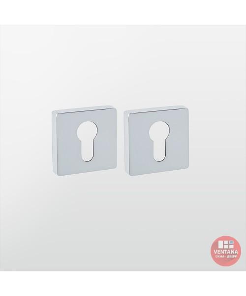 Фурнитура SYSTEM Накладка дверная RO11Y CR