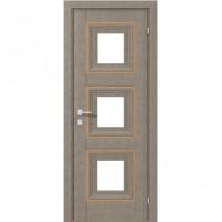 Межкомнатная дверь RODOS VERSAL Irida middle molding, со стеклом
