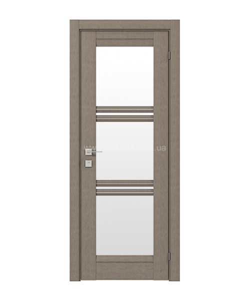 Межкомнатная дверь RODOS Fresca Vazariсо стеклом