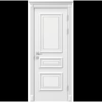 Межкомнатная дверь RODOS Siena Rossi глухое, белый мат