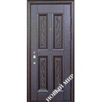 Дверь входная бронированная Новый мир (Каховка) с деревянной облицовкой Каховка