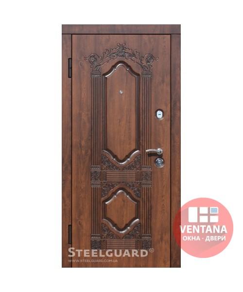 Дверь входная бронированная Steelguard Серия RESISTE Sangria