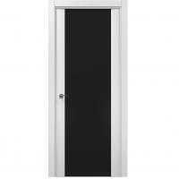 Межкомнатная дверь Папа Карло ML 05 триплекс черный