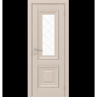 Межкомнатная дверь RODOS VERSAL Esmi basic molding, со стеклом, с гравировкой