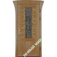 Дверь входная бронированная Новый мир (Каховка) с деревянной облицовкой Австрия