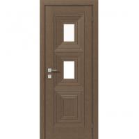 Межкомнатная дверь RODOS DIAMOND Berita с 2 стеклами