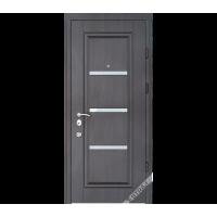 Дверь входная бронированная Страж коллекции Synergy Vena Glass