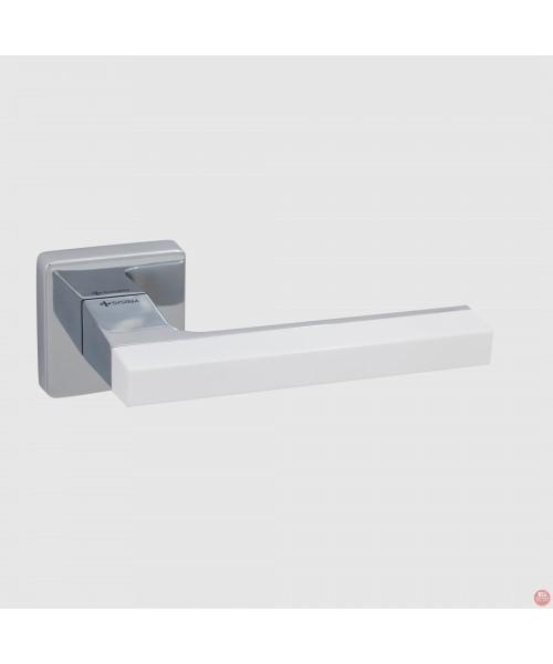 Фурнитура SYSTEM Ручка дверная AZUR HA104 RO11 CR-CR-AL7