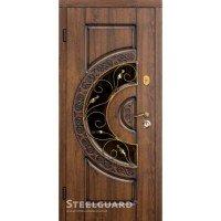Дверь входная бронированная Steelguard Серия RESISTE Optima glass