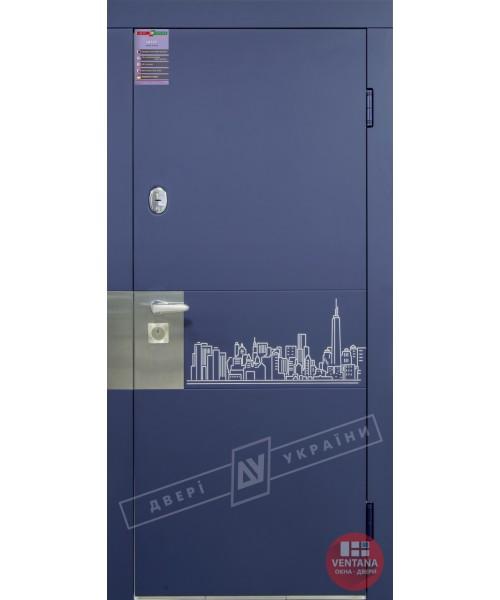 Дверь входная бронированная Двери Украины серия ИНТЕР ArtSteel 1
