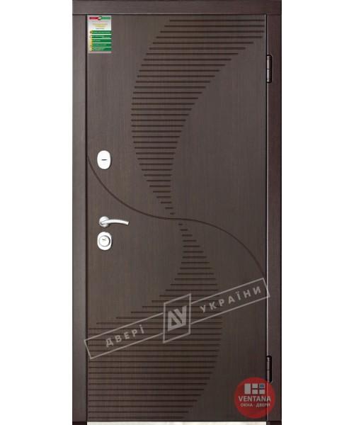 Дверь входная бронированная Двери Украины серия СИТИ  БРИЗ