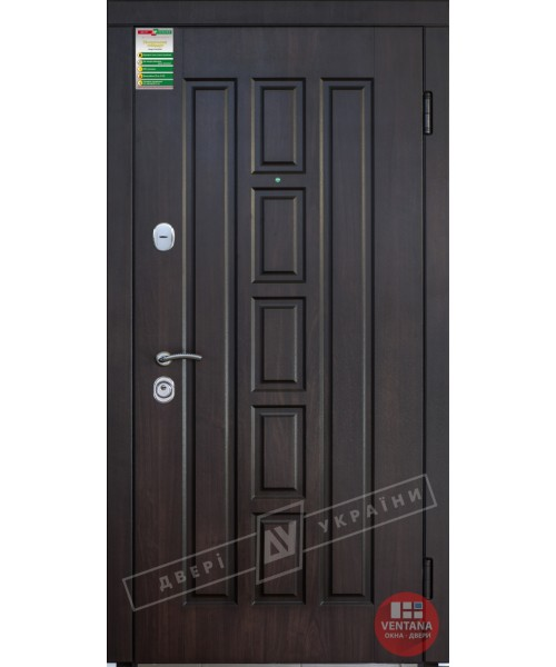 Дверь входная бронированная Двери Украины серия БС КВАДРО ВТ