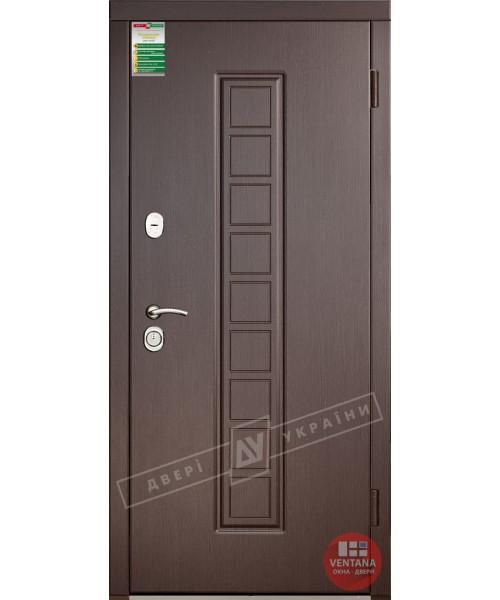 Дверь входная бронированная Двери Украины серия СИТИ  ЛАУРА