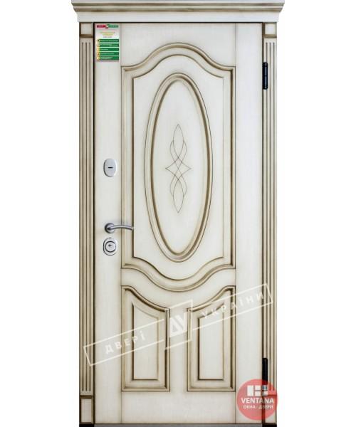 Дверь входная бронированная Двери Украины серия БС ЛЕДИ