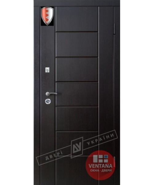 Дверь входная бронированная Двери Украины серия СИТИ  НИКА
