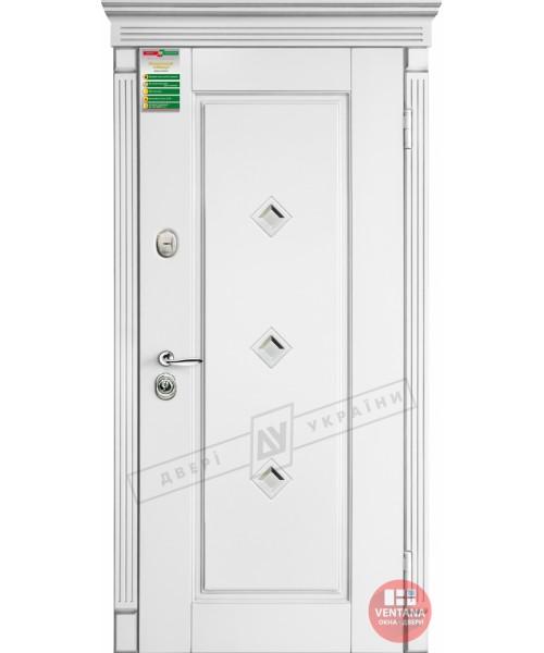 Дверь входная бронированная Двери Украины серия БС ПРОВАНС 1 кристал