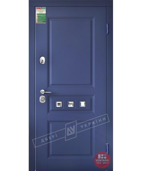 Дверь входная бронированная Двери Украины серия  БС  Прованс 3 кристал