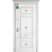 Дверь входная бронированная Двери Украины серия  БС  ПРОВАНС 4 кристал