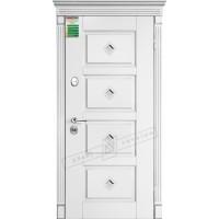 Дверь входная бронированная Двери Украины серия БС Прованс 6 кристал