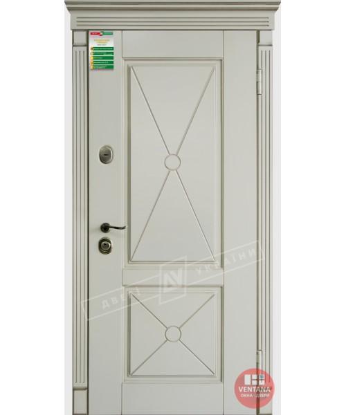 Дверь входная бронированная Двери Украины серия БС ПРОВАНС декор 2