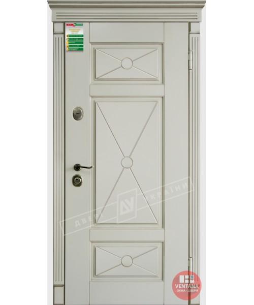 Дверь входная бронированная Двери Украины серия БС ПРОВАНС декор 4