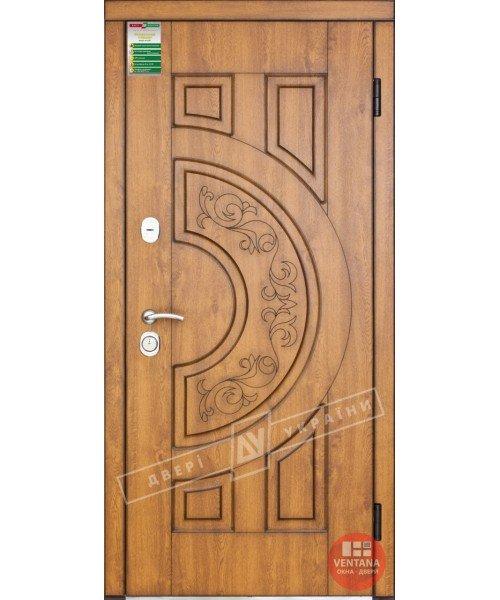 Дверь входная бронированная Двери Украины серия БС ЗЛАТА