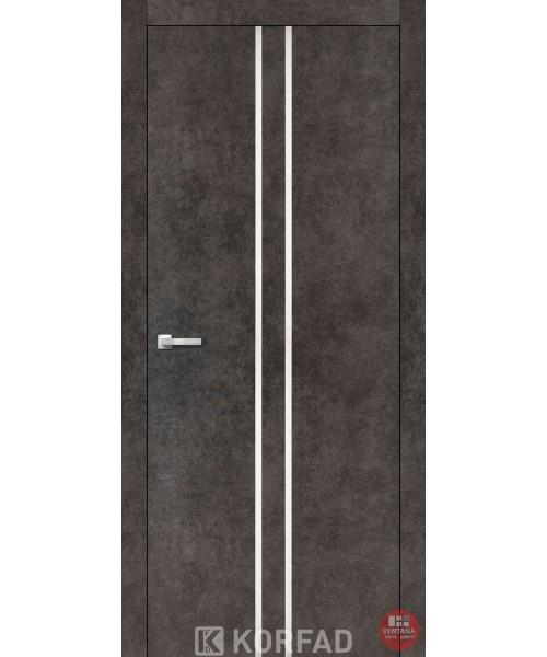 Межкомнатная дверь KORFAD коллекция ALUMINIUM LOFT PLATO ALP-02