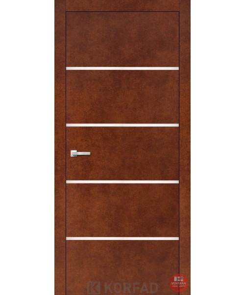 Межкомнатная дверь KORFAD коллекция ALUMINIUM LOFT PLATO ALP-05