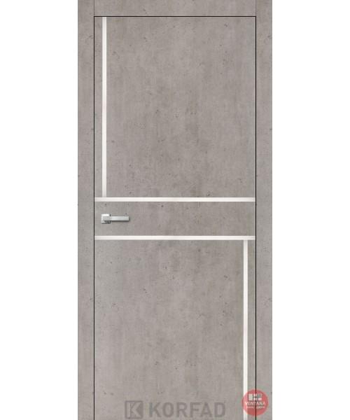 Межкомнатная дверь KORFAD коллекция ALUMINIUM LOFT PLATO ALP-07