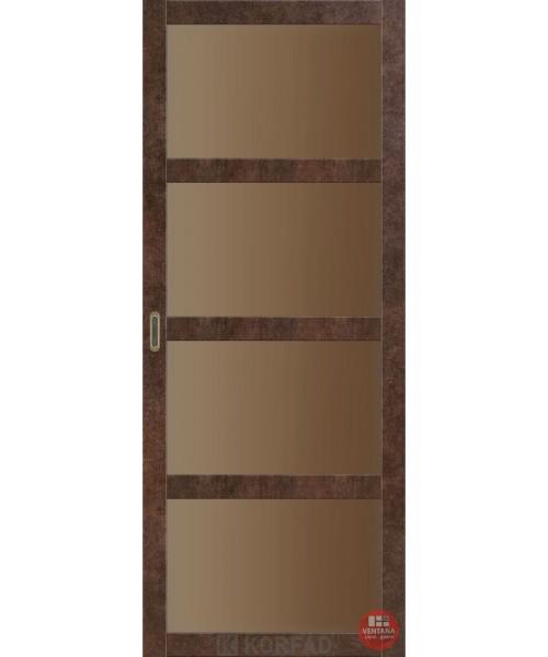 Межкомнатная дверь KORFAD коллекция BELLA BL-01