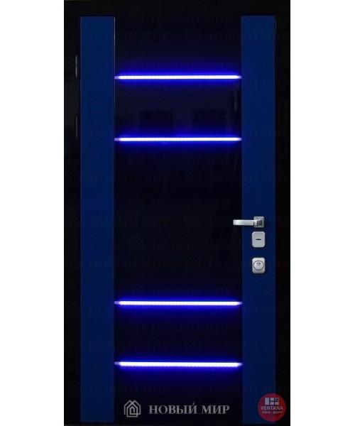 Дверь входная бронированная Новый мир (Каховка) 9254-LED