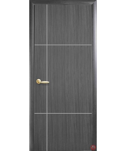 Межкомнатная дверь Новый стиль коллекция PLUS Ніка silver