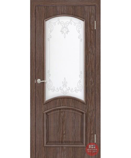 Межкомнатная дверь ОМиС Адель 2 СС+КР