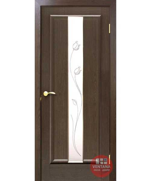 Межкомнатная дверь ОМиС  Тиффани СС+КР