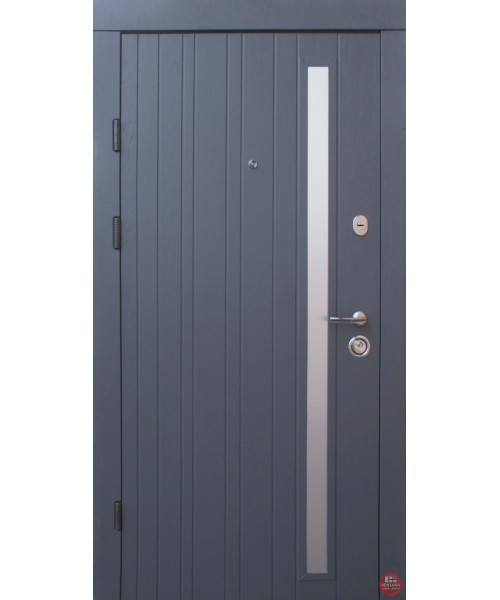 Дверь входная бронированная Qdoors Премиум Браш
