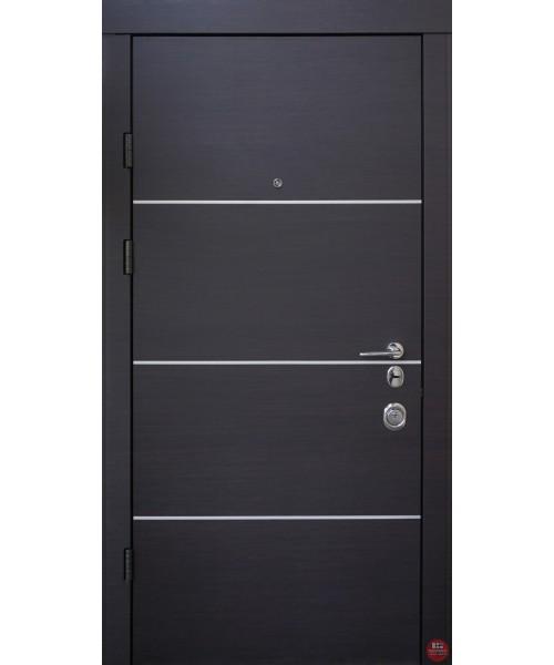 Дверь входная бронированная Qdoors Авангард Горизонт-Al