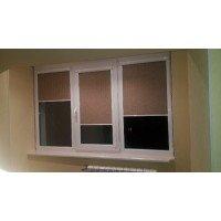 Рулонные шторы закрытого типа Besta UNI (плоские)