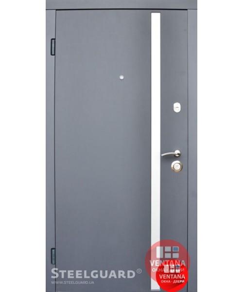 Дверь входная бронированная Steelguard Серия RESISTE AV 1 Grey New