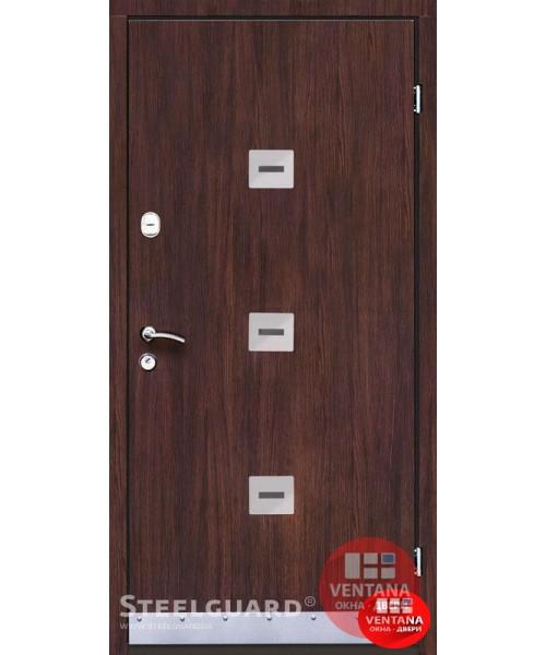 Дверь входная бронированная Steelguard Серия ETERO Sigma Wenge
