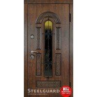 Дверь входная бронированная Steelguard Серия RESISTE Vikont Glass