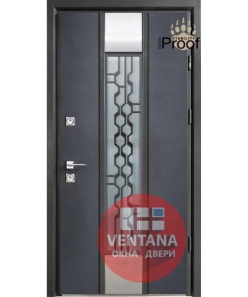 Дверь входная бронированная Страж коллекция Stability Proof Domani