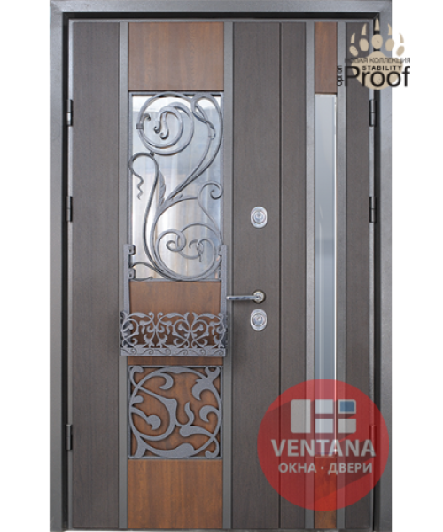 Дверь входная бронированная Страж коллекция Stability Proof 1.5 Eridan Rio