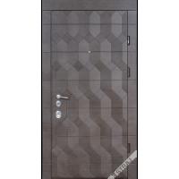 Дверь входная бронированная Страж коллекции Synergy Antracit 3D